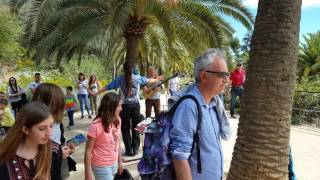 Barcelona, Park Güell, spanish live music, Tablao Sur in the Park
