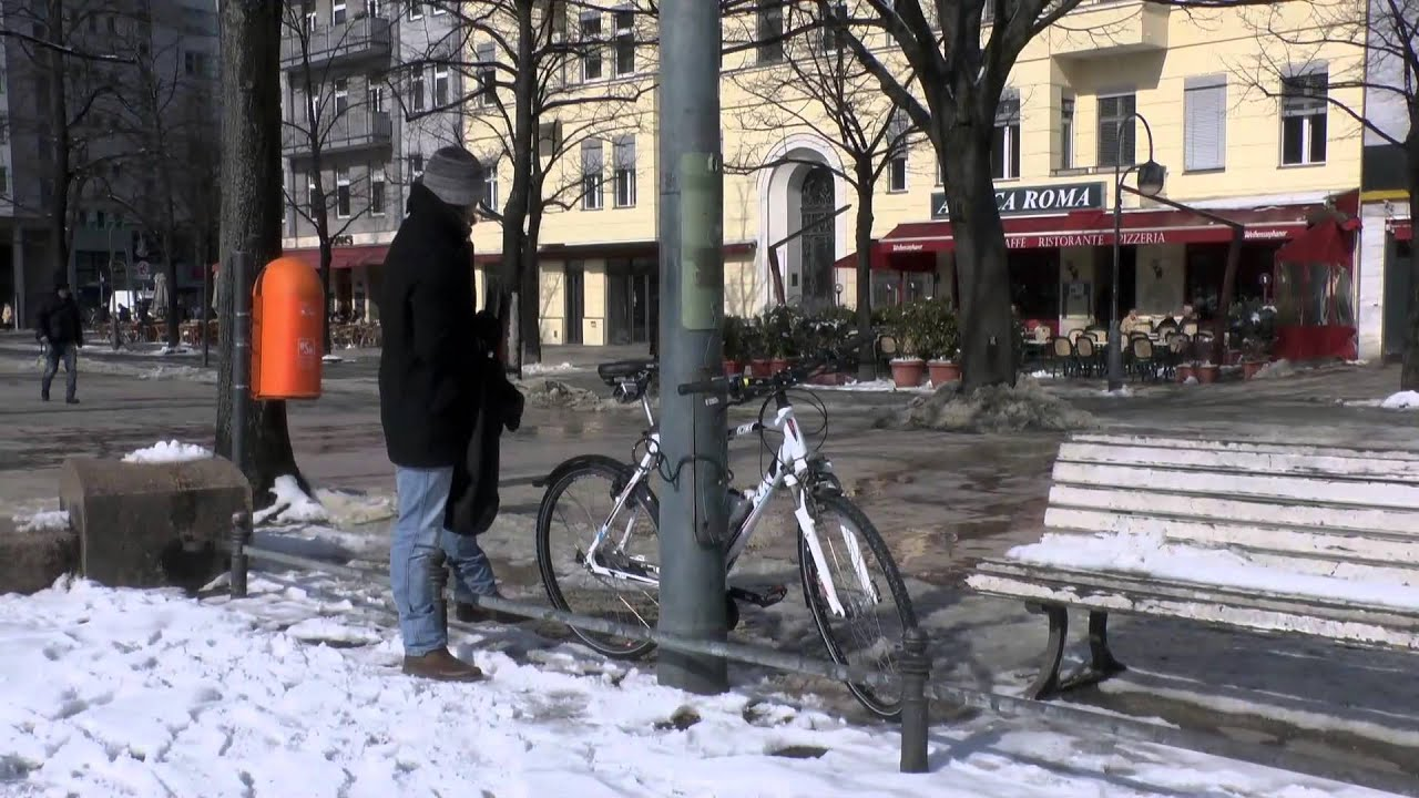 fahrradschloss geknackt in 3 sekunden youtube. Black Bedroom Furniture Sets. Home Design Ideas