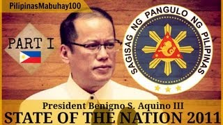 SONA 2011 | Second State of the Nation Address of President Benigno Aquino III - July 25, 2011 (1/4)