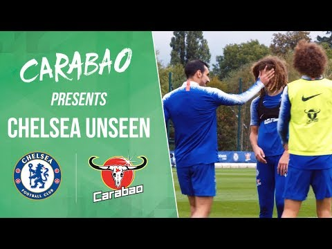 Funny Luiz Two Touch Challenge, Ampadu's Punishment! | Chelsea Unseen