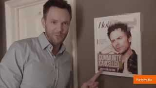 Joel McHale Steals $500K Truck in Purity Vodka Ad