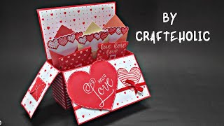 3D Pop Up Card | Birthday Card DIY | birthday explosion box | Handmade Greetings Card