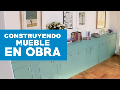 C mo construir un mueble en obra youtube for Ideas para arreglar mi casa