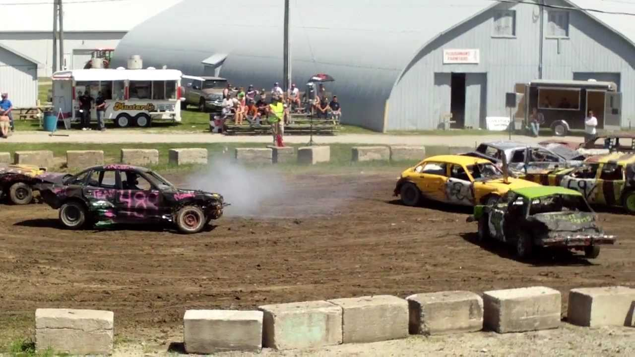 Brigden 2011 Spring Demo Derby Large Car Final Heat