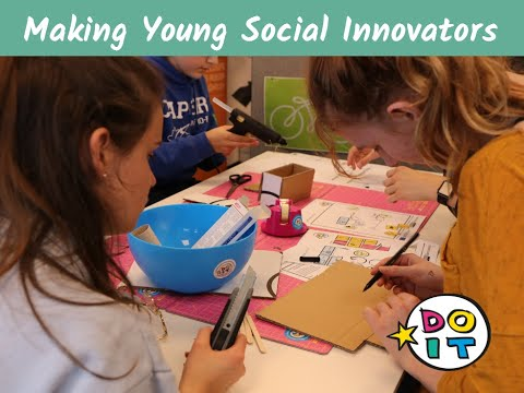 Online Course on Making Young Social Innovators