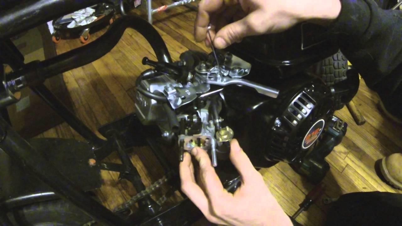 Predator 212cc Throttle Linkage Instructions