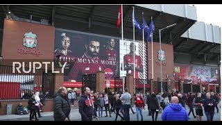 LIVE: Fans arrive at Anfield stadium ahead of Liverpool vs. PSG match
