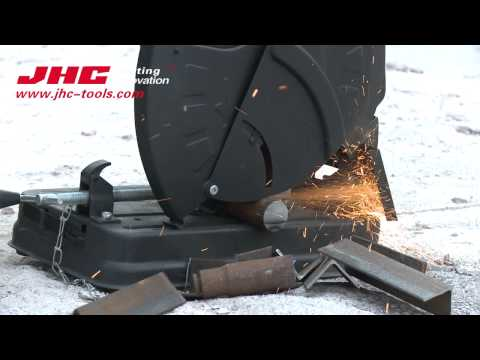 JHC gasoline Cut-Off Saw gas powered 2-Cycle Gasoline engine Dry Cut JH350