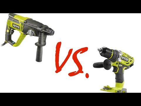Hammer drill vs cheap SDS+ Rotary Hammer drill