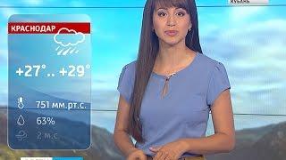 В Краснодаре прогнозируют ливневый дождь(Неделя вновь началась с солнечной погоды и очередных экстремально жарких показателей температуры воздуха,..., 2016-06-27T15:28:00.000Z)