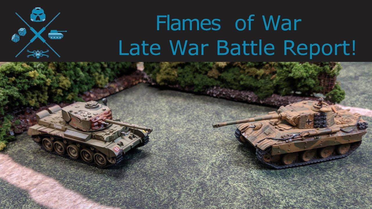 Flames of War - British vs  Germans Late War 1515ps