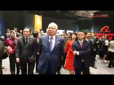 Najib begins China visit with tour of Alibaba HQ