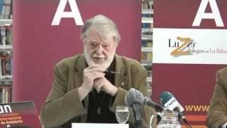 Manfred Max Neef, clase magistral El mundo en rumbo de colision 1/6