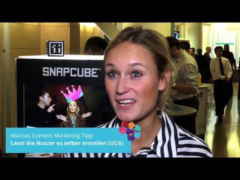 Content Marketing Tipps von CELUM, diva-e, My Little Job, SnapCube