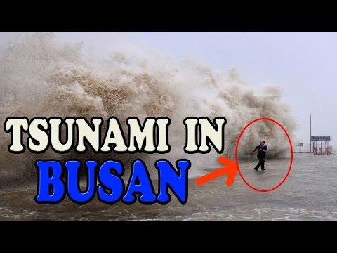 BUSAN TSUNAMI WAVES SOUTH KOREA #PRAYFORBUSAN