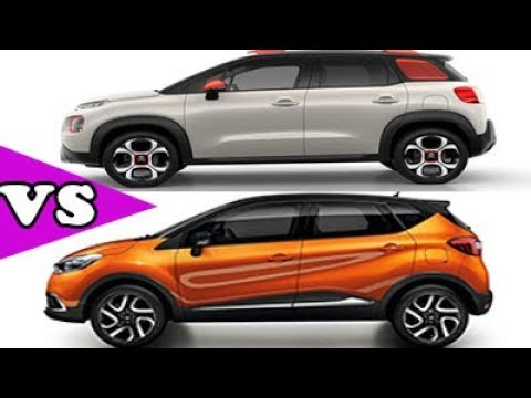 comparatif citro n c3 aircross vs renault captur 2017. Black Bedroom Furniture Sets. Home Design Ideas