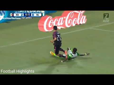 Goals and Highlights in Mexico 4-0 Nigeria match 2021