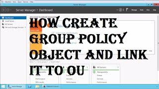 Active Directory Grup İlkesi Nesnesi Oluşturmak için Bağlantı nasıl