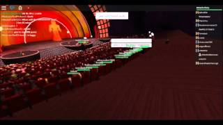 RobLOX Bloxy Awards Stage 2015