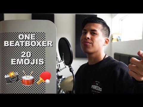 One Beatboxer, 20 Emojis
