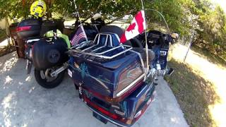 My 'Packing for Motorcycle Camping' method Part 1