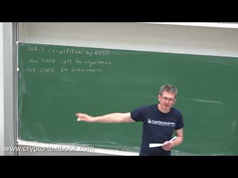 Lecture 21 (update): SHA-3 Hash Function By Christof Paar