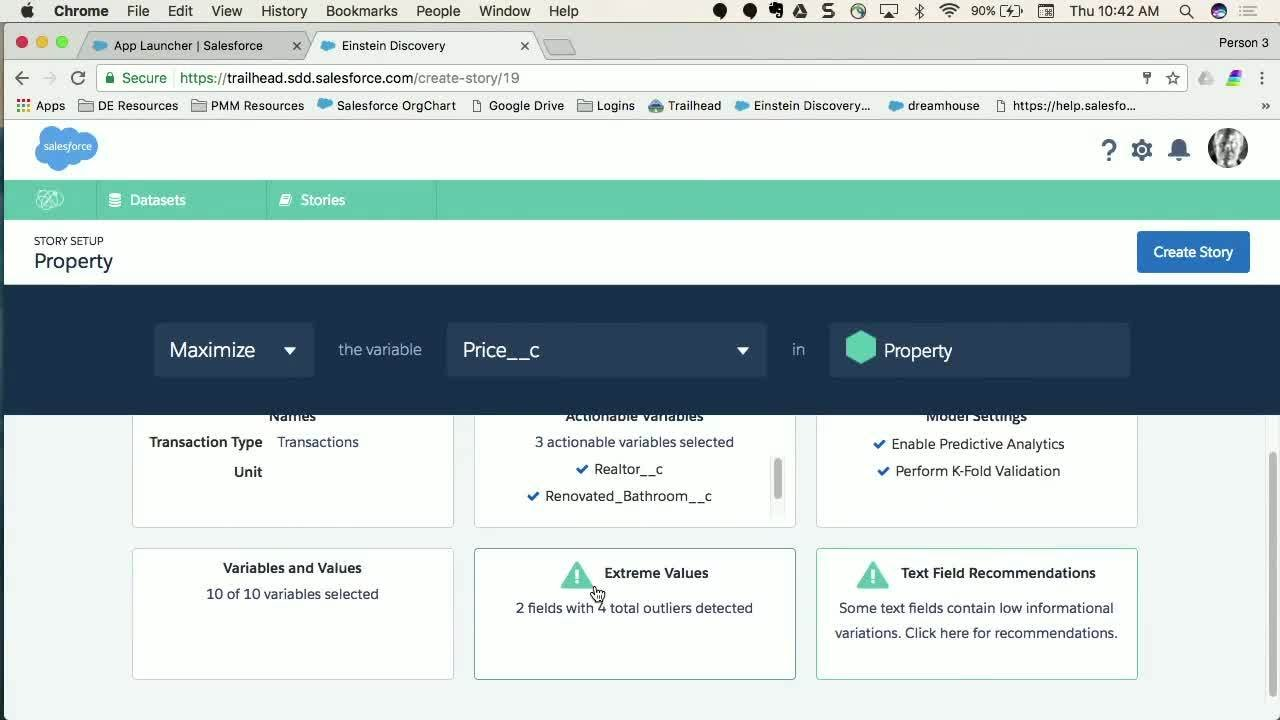 Add Intelligence to Any Salesforce App with Einstein Discovery