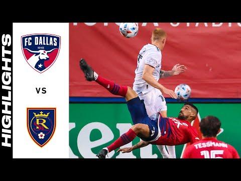 Dallas Real Salt Lake Goals And Highlights
