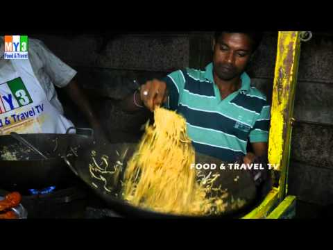 NOODLES | FAST FOOD IN INDIAN STREET | 4K VIDEO