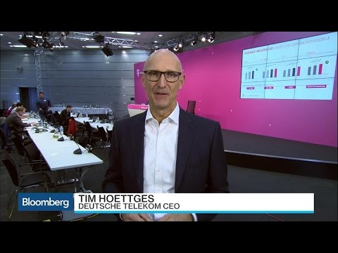 Deutsche Telekom CEO Says 'Nothing Has Changed' on BT