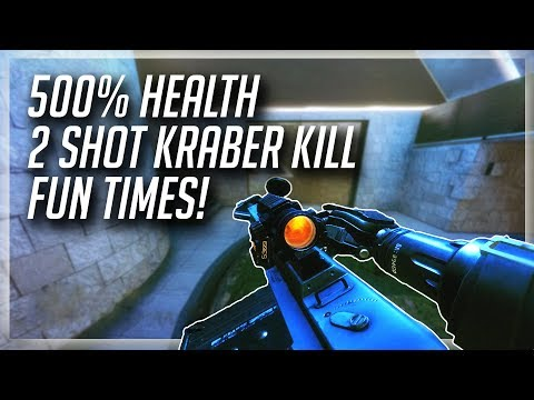 TITANFALL 2: 2 Shot Kraber Kill Match   Fun Times With The Subs!