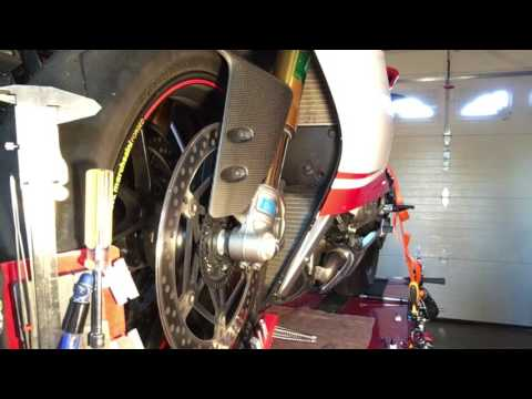 Panigale Oil Change - For the detail oriented Ducatisti