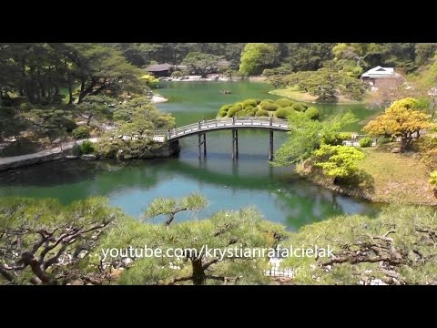 Park Ritsurin Garden - Green Japan - Kagawa Tourism Sightseeing Holidays nature walking