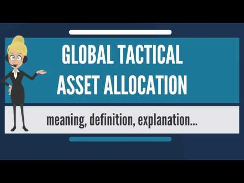 What is GLOBAL TACTICAL ASSET ALLOCATION? What does GLOBAL TACTICAL ASSET ALLOCATION mean?