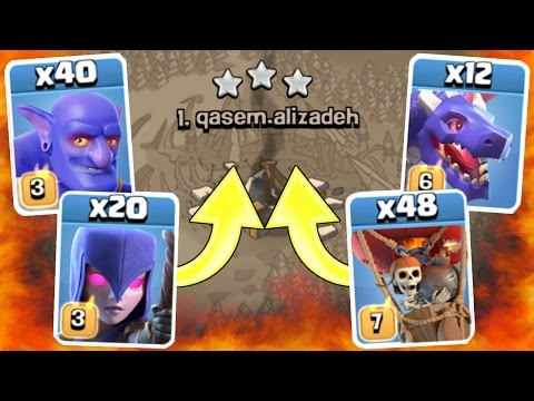 Clash Of Clans - 1 TROOP TROLL ARMY!! - SURPRISING OUTCOME!!!