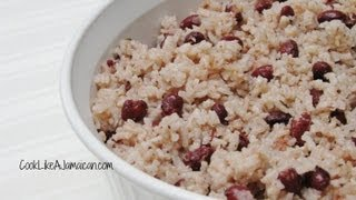 Jamaican Rice And Peas Recipe Video