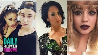 Ariana Used Bieber As a Weapon Against Big Sean? -Demi Lovato Took Kylie Jenner Lip Challenge? (DHR)