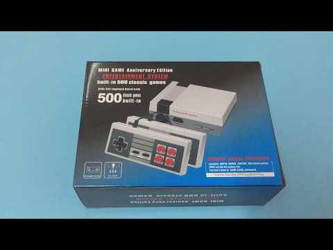 Retro Mini Video Game Console Entertaiment System 500 Games