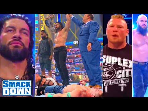 WWE SmackDown 23rd July 2021 highlights, Roman Reigns Attack Cena, Edge Vs Seth,Braun, Brock returns
