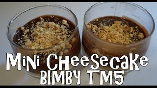 Bimby Tm5 - Mini Cheesecake Alla Gianduia