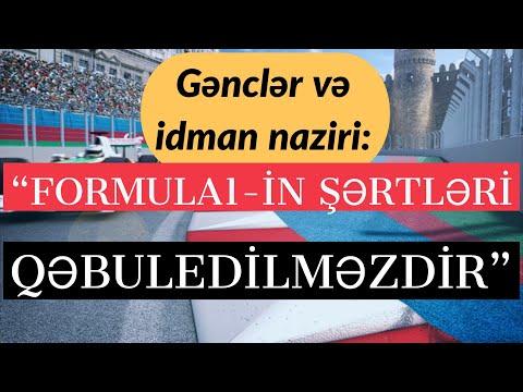 Azərbaycan Formula1-lə sazişi qəbuledilməz sayır. Yarış Azərbaycana qazanc gətirirmi? (15.02.2018)