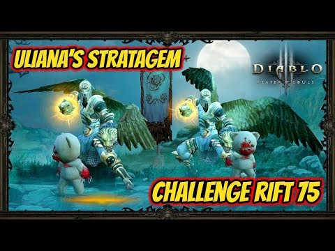 Diablo 3 | Gaming With My Girlfriend - Challenge Rift 75 - Uliana's Stratagem