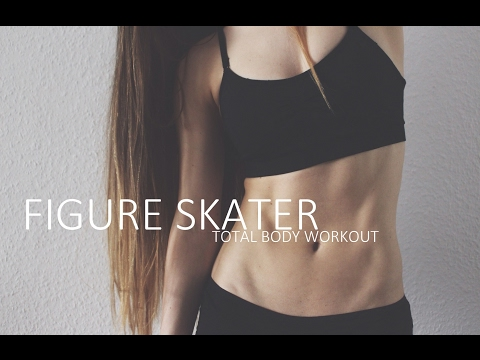 Figure Skater Total Body Workout ❤ Intense Workout With Weights (Optional)