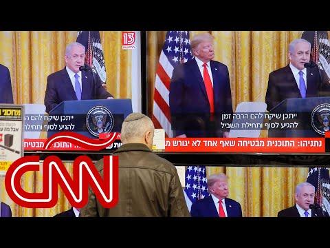 """Plan De Paz De Trump Para Israel Y Palestina, ¿""""acuerdo"""" O """"bofetada Del Siglo""""?"""