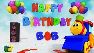 Feliz Aniversário Para Bob | Canções Para Crianças | Happy Birthday To Bob | Kids Tv Português