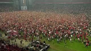 Denmark's national stadium when Youssuf Poulsen scored against Peru