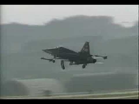 Northrop F-20 Tigershark Crash (1984)