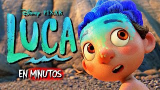 Luca RESUMEN (Disney+)