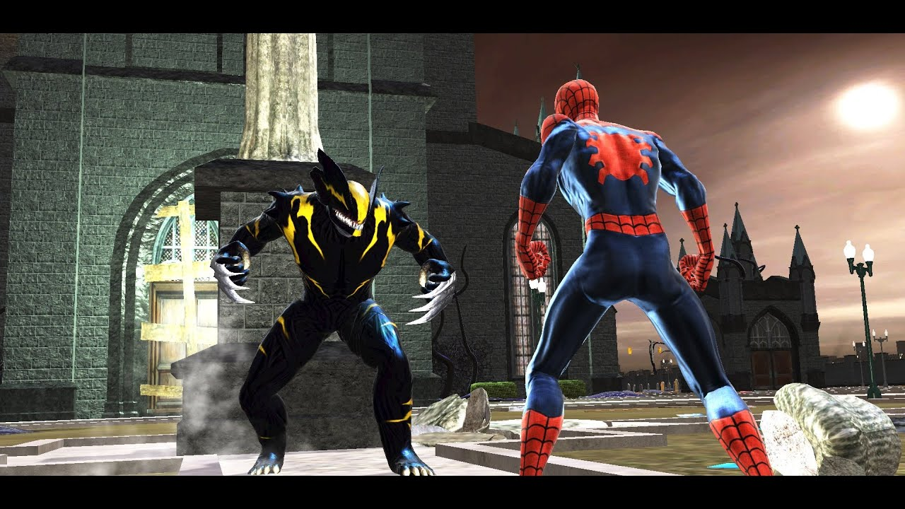 spider man web of shadows symbiote types