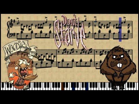 Don't Starve ~ Woodie's curse BGM   Piano Arrangement
